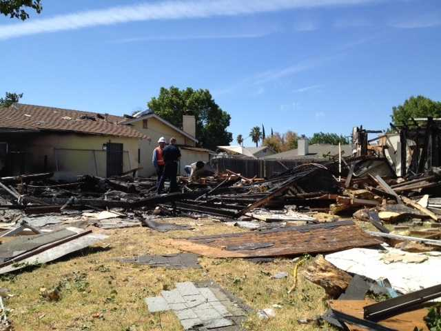 The home damaged 22 other homes.