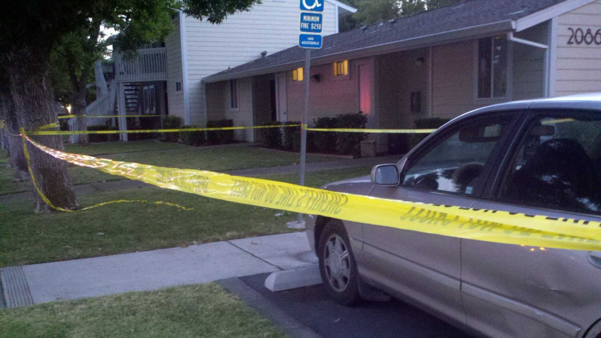 Sacramento County sheriff's deputies were interviewing an 11-year-old girl who may the only witness to a double homicide that happened Tuesday evening in Rancho Cordova.