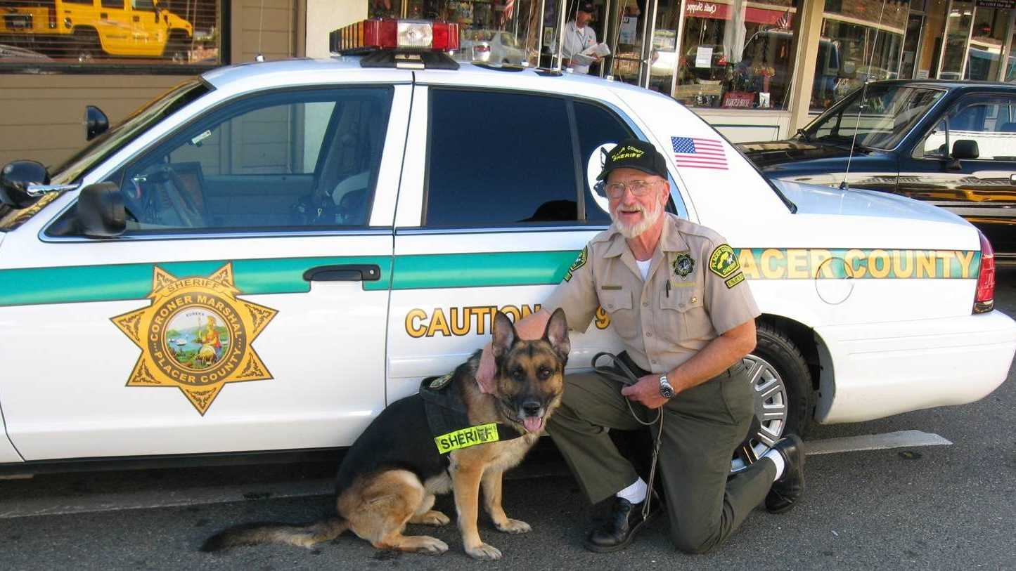 A photograph of Howard Stolz, 74, was provided by the Placer County Sheriff's department, where the department confirmed he volunteered with the K-9 unit. Stolz and four other Californians have died from West Nile this year.