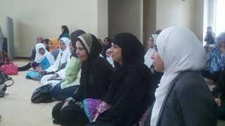 Sacramento Valley Muslims pray for peace and condemn the violence in the Middle East.