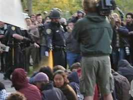 See a year of photos from the Occupy movement throughout Northern California, including Sacramento, Davis, Oakland and San Francisco.