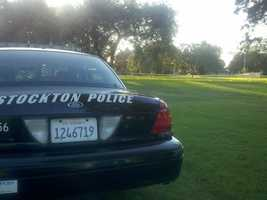 Stockton police said a 60-year-old man is dead after he was shot during a gold chain robbery at Victory Park.