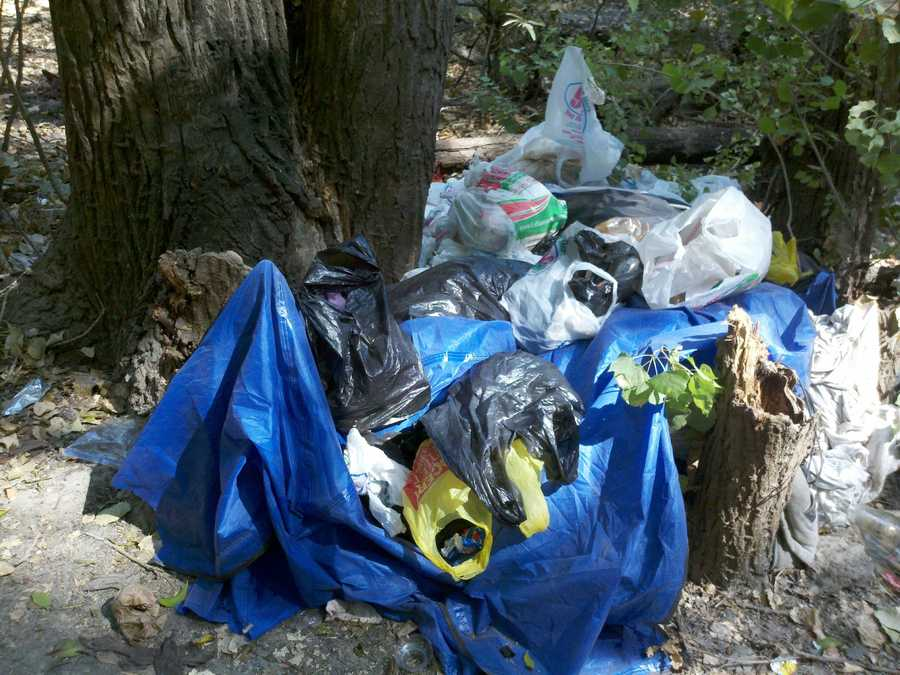 With the increase in camping, Sacramento County Park Rangers focus their efforts of ridding the parkway of trash, debris and toilet paper.