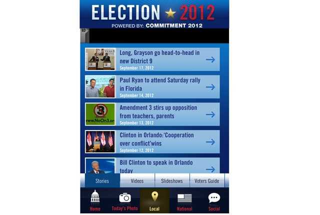 Install the free Election 2012 app now on your smartphone for iPhone and Android.
