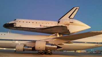 The Shuttle at EdwardsAir ForceBase on Sept. 21, 2012