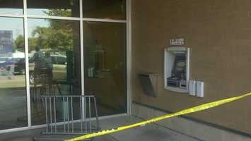 Stockton police are looking for two men wearing wigs and beanies who they said robbed a bank Tuesday morning.