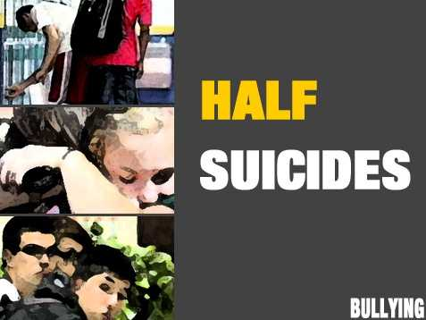 A British study concluded that half of youth suicides are related to bullying.