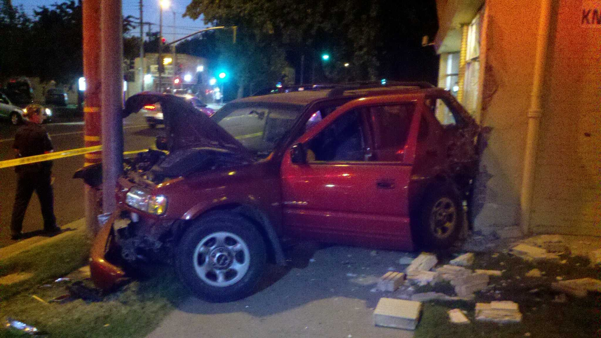 Car crashes into east Sacramento pharmacy