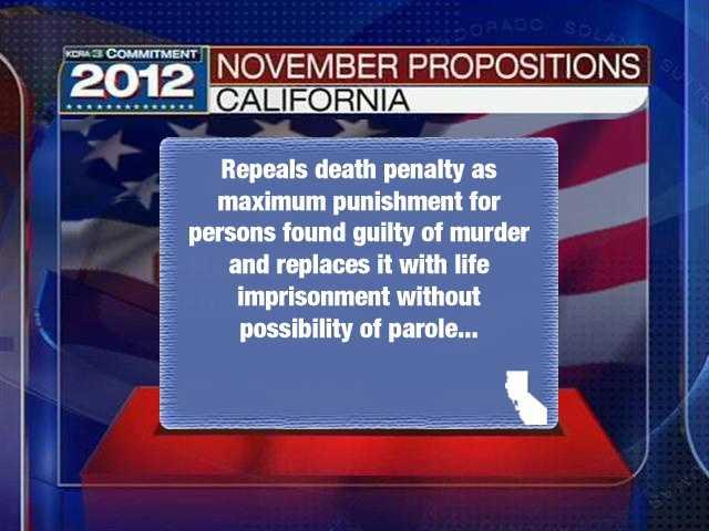 "Prop. 34""Death Penalty Repeal. Initiative Statute."""