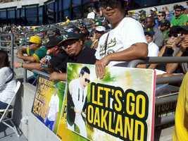 The A's had trailed Texas by 13 games in June. And with a $59.5 million payroll, the lowest in the league, general manager Billy Beane still found ways to get a blue-collar franchise back to the playoffs for the first time since being swept in 2006.