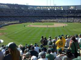 The Oakland Athletics captured the AL West with an improbable rally against the Texas Rangers.