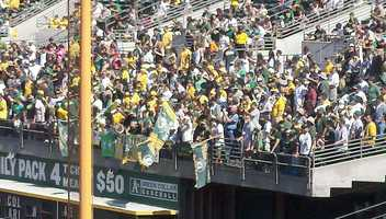 The Oakland Athletics captured the AL West with an improbable rally against the Texas Rangers on Wednesday.