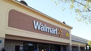 Five people were taken to an area hospital Thursday after smelling gas at a Woodland Walmart.