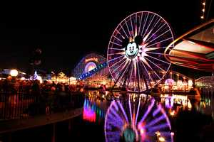 Planning a trip to Disneyland? A trip from Modesto to Anaheim is about 676 miles round trip -- that's about 22.53 gallons.