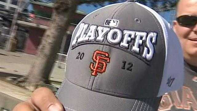 Giants take on Reds in MLB playoffs