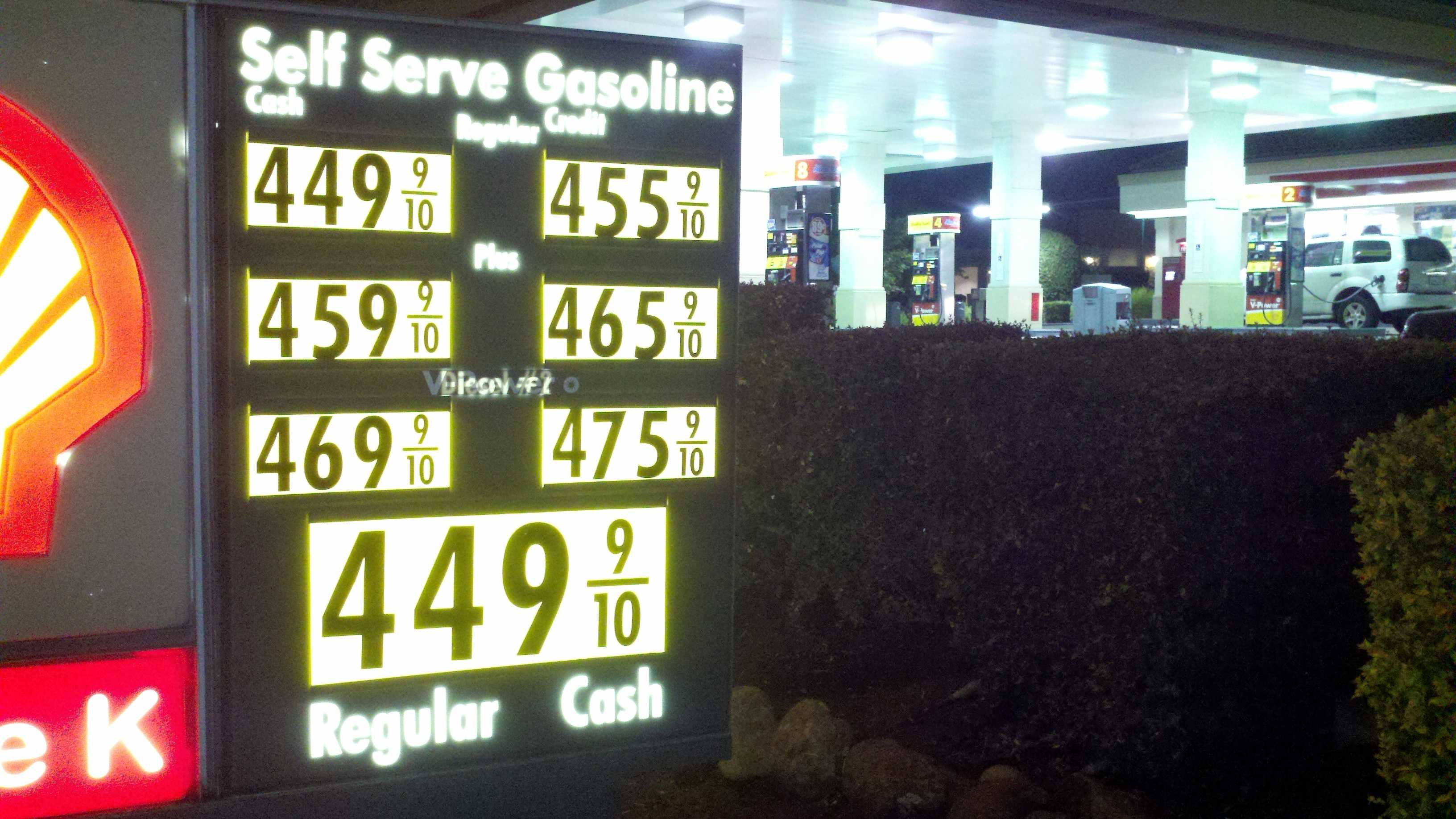 California has now hit an all-time high statewide for a gallon of unleaded regular gas.