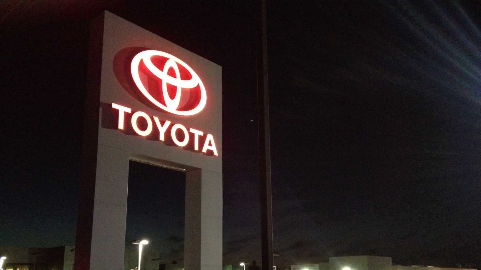 Toyota dealership (Oct. 10, 2012)