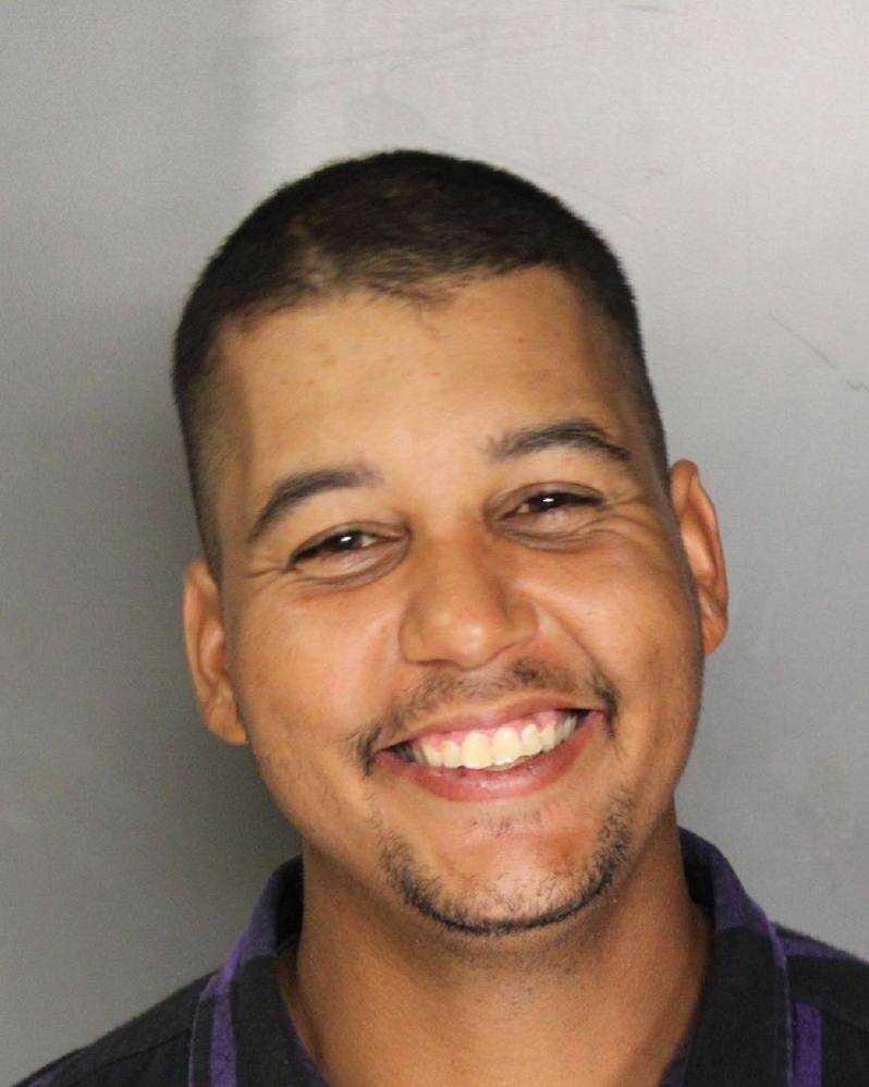 Damien Belmonte was arrested on felony burglary charges in Sacramento, deputies said.
