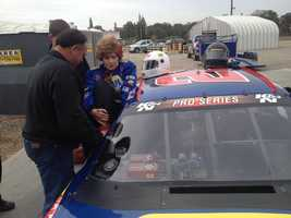 The Oakdale woman will also serve as the Grand Marshal for the NASCAR K&N Pro Series West race. Read full story