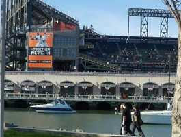 Photo from Game 1 of NLCS in San Francisco.