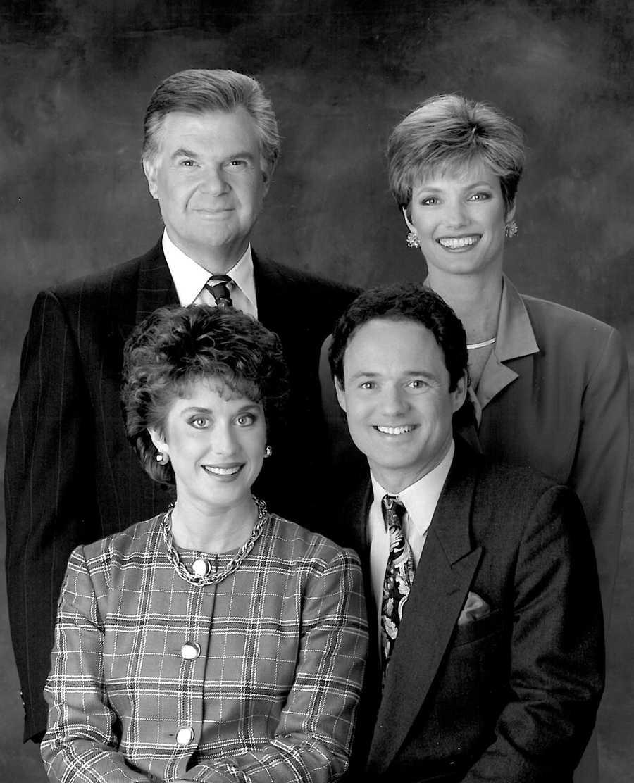 Walt with Stan Atkinson, Carol Bland and Shelly Monahan.
