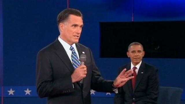 "On Facebook, Rachel writes about a moment that stood out: ""When Romney called Obama out when he lied."""