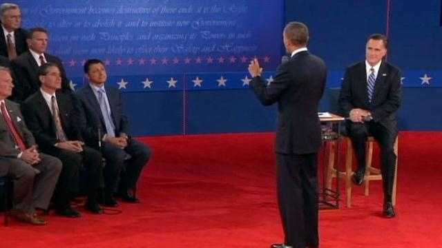 "On Facebook, Olivia writes: ""Obama stumbling to answer questions without a teleprompter."""
