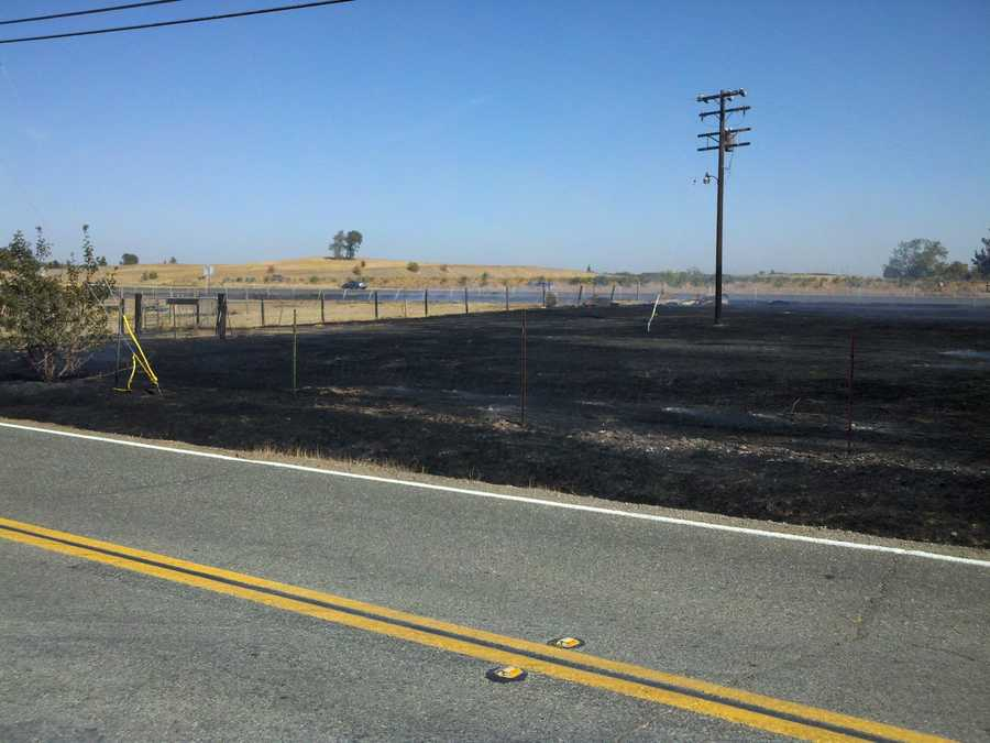 Firefighters said some of the worst fires occur in Solano County during October due to high winds and dry conditions.