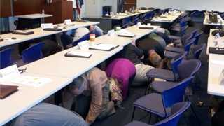 Millions of Californians participated in the Great California Shake Out earthquake safety drill on Thursday.