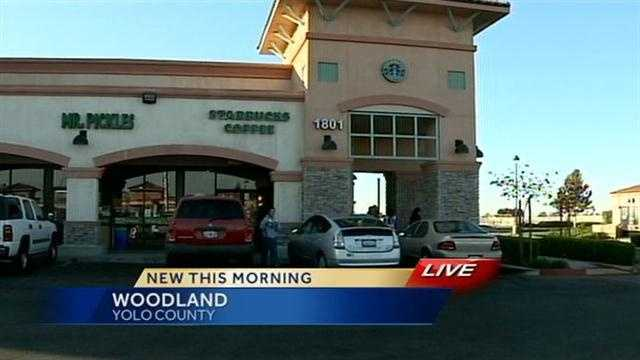An escaped inmate is caught hiding behind a Dumpster at a Woodland Starbucks.