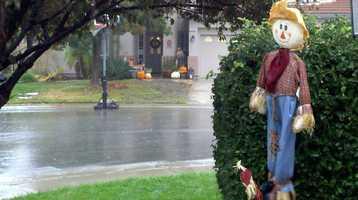 Rain falls in the Rocklin area.