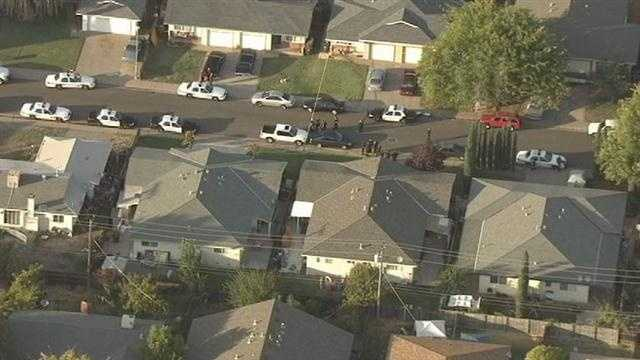 A 19-year-old man suspected of killing two children and a woman in Rancho Cordova is related to the victims, officials said Wednesday morning.