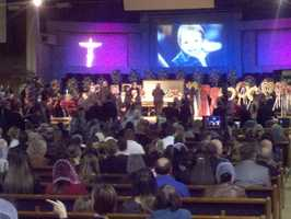 Family and community members attended funeral services Friday for the victims of a triple homicide in Rancho Cordova that claimed the lives of a young mother and two of her toddlers.