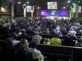 People also packed a church Friday for a private memorial service to honor the fallen victims of a triple homicide in Rancho Cordova on Tuesday. Gregoriy Bukhantsov is accused of killing his brother's wife and two toddlers (Oct. 26, 2012).