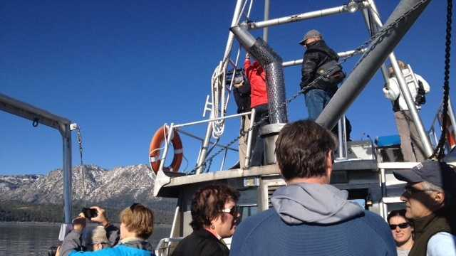 The largest Asian clam control project in the history of Lake Tahoe is under way near Emerald Bay.