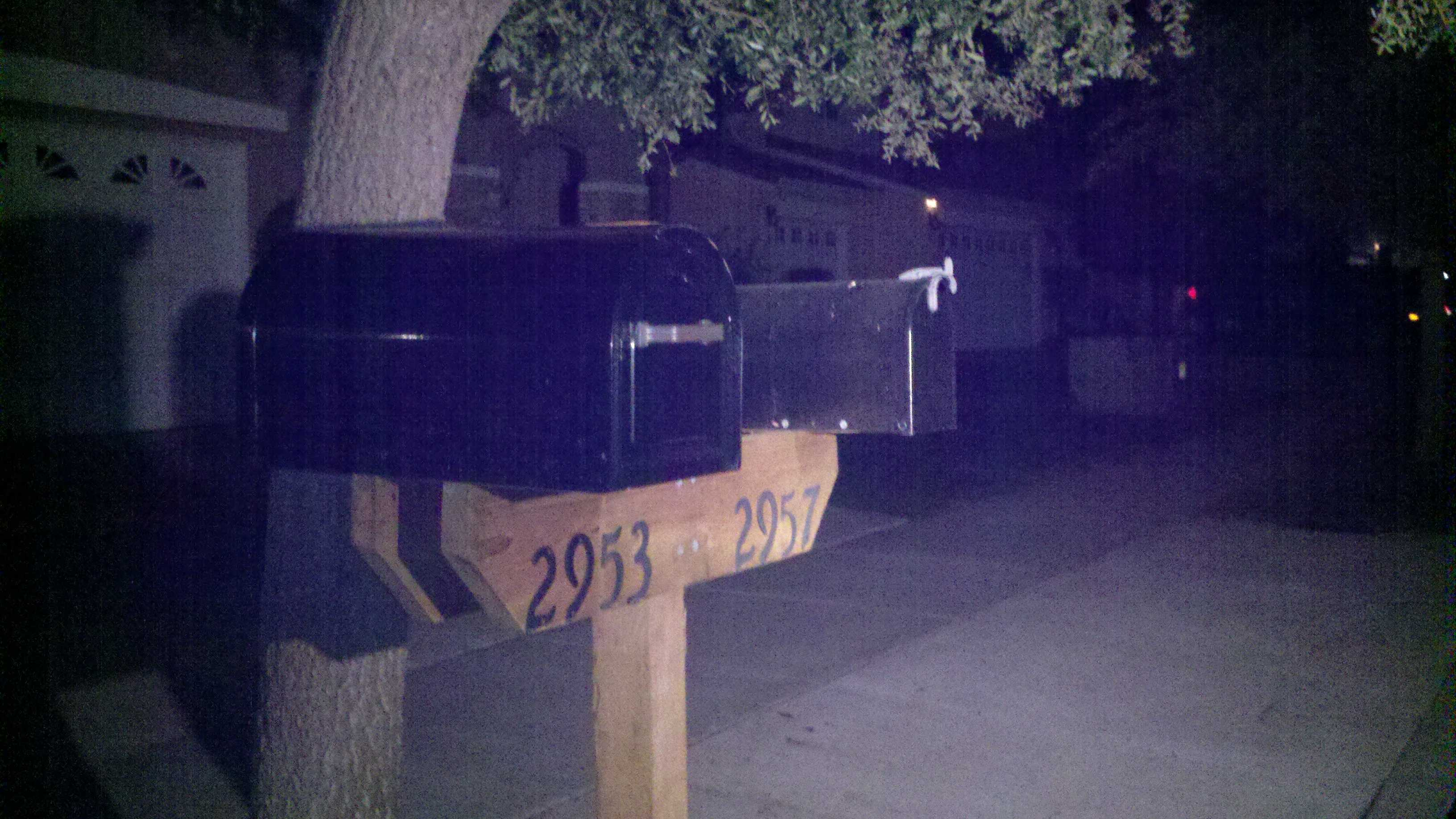Fairfield police said mail thieves have been roaming the streets near Fairfield's Laurel Creek Park.