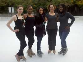 The ice rink in downtown Sacramento at Seventh and K streets opens today. Its regular hours through January are 2 to 8 p.m. Monday through Thursday, 10 a.m. to 10 p.m. Friday and Saturday&#x3B; and Sunday 10 a.m. to 8 p.m.