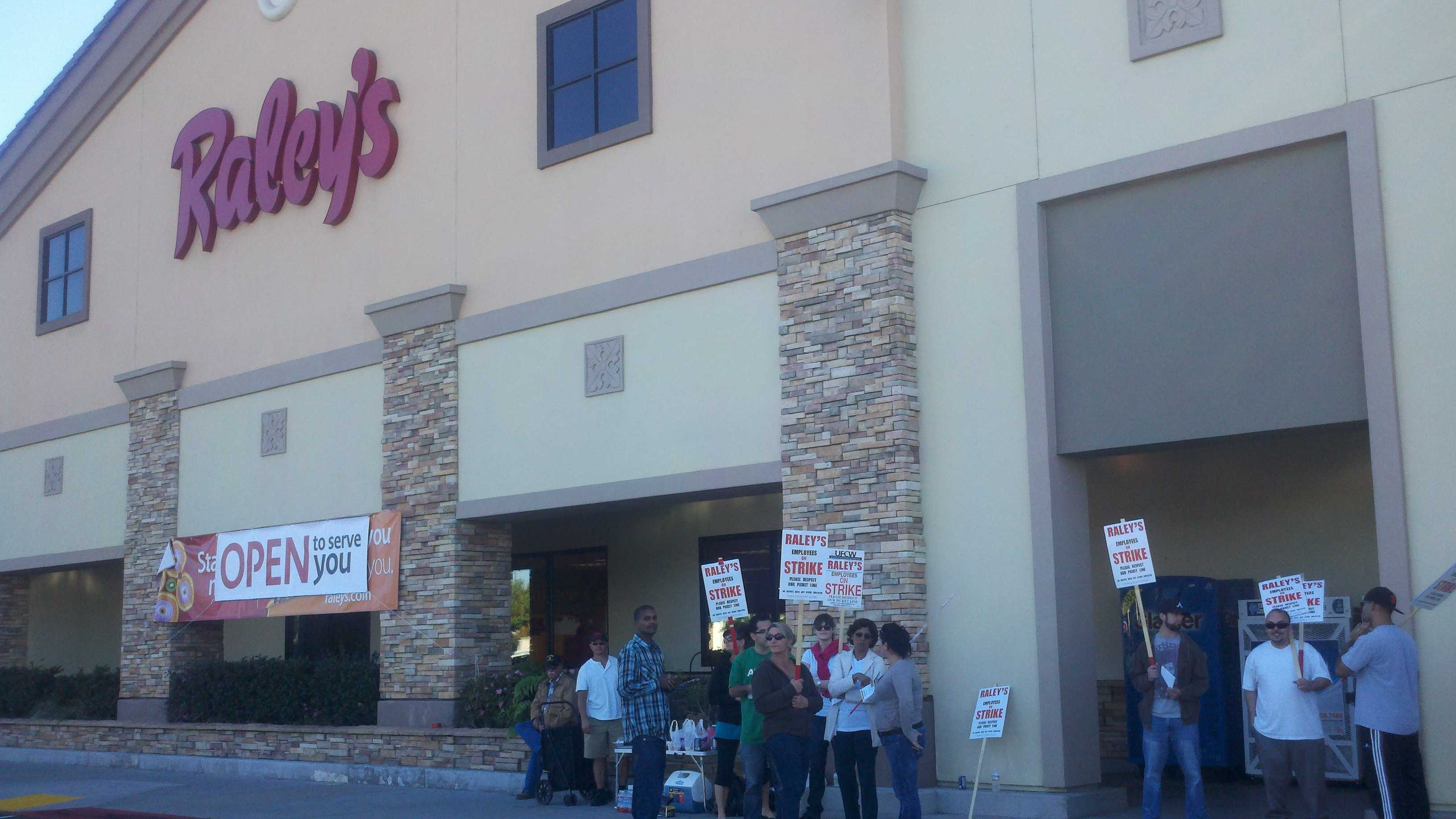 This Raley's store at 4900 Elk Grove blvd. is also a polling place for Tuesday's election.
