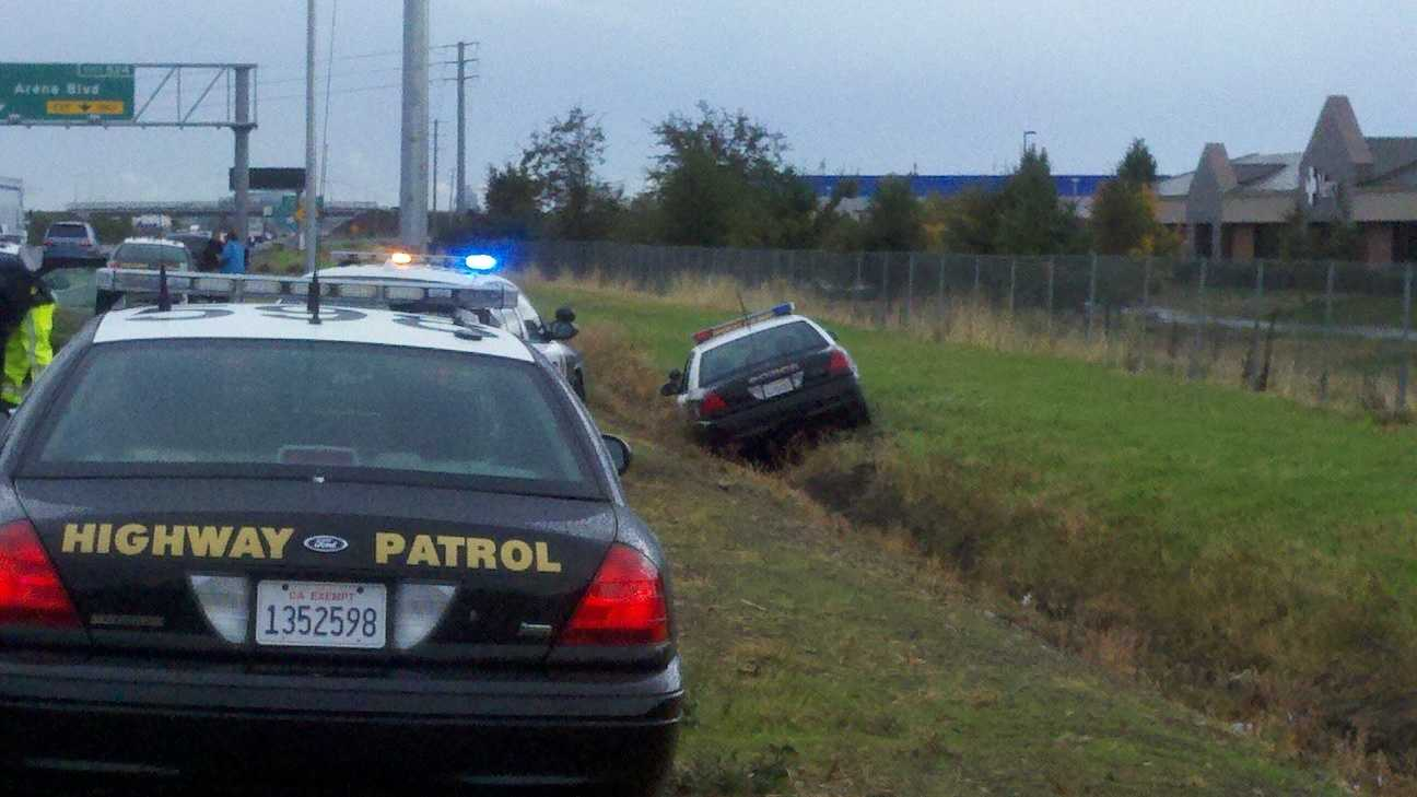 I-5 police pursuit