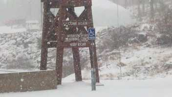Colder weather, rain and snow moved into into the Valley and Sierra on Thursday.
