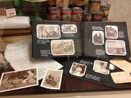 Raley's family history, and its 77 years of business, is revealed in photos in a display case at the company's West Sacramento headquarters.