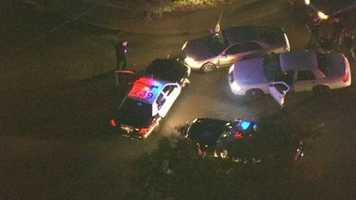 The pursuit ended when deputies used their vehicles to corner the car at the intersection of Walnut Avenue and Kohler Avenue near the Foothill Farms neighborhood.