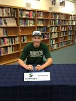 Eric Stuteville of Casa Roble High School will be staying local, playing basketball for the Sacramento State Hornets.
