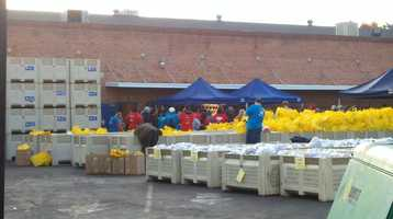 On Monday, hundreds of families camped out to receive a free turkey with all of the fixings. More than 6,300 birds were donated during the KCRA 3 Turkey Drive on Friday.