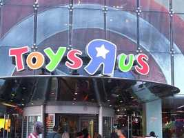 "Toys""R""UsThursday 5 p.m. until Friday 11 p.m."