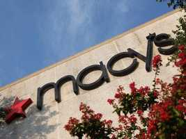 Macy'sThursday 6 p.m. until Friday 10 p.m.