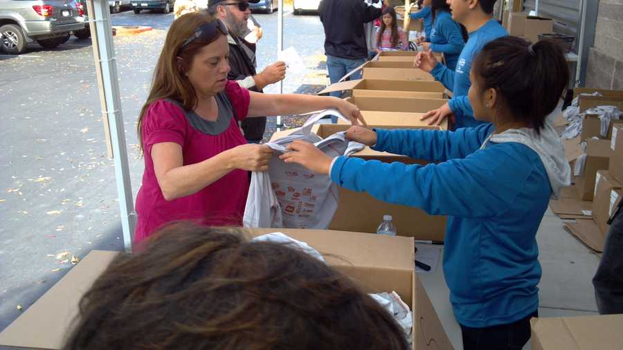 Registration is still open for Sacramento's annual Run To Feed the Hungry this Thursday. You can sign up online. Many runners chose to register in person Tuesday outside REI. KCRA 3 will have live coverage of the race from 7 to 10 a.m. on Thanksgiving Day.