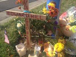 Edward Hill, 12, was killed Sunday near the intersection of Bond Road and Elk Crest Drive in Elk Grove.