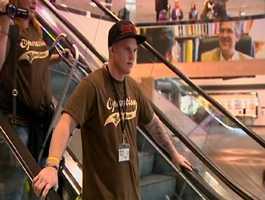 Army Specialist Brandon Walden, 20, said he was surprised.