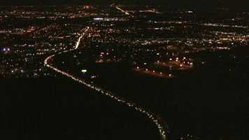 Take a look at these images from LiveCopter 3 flying over Sacramento on Thanksgiving Eve.